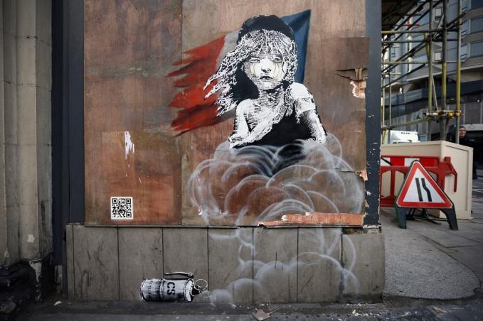 Бэнкси, граффити